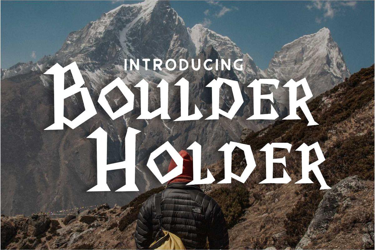 Boulder Holder example image 1