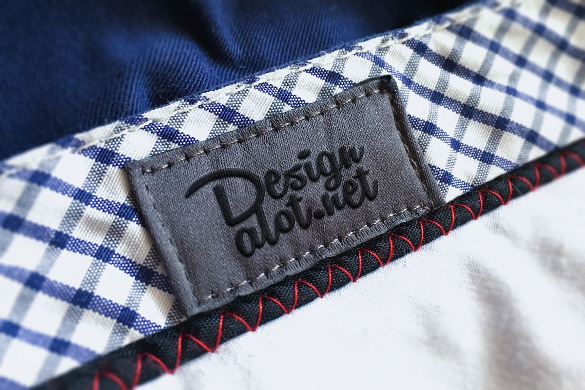 Embroidered Canvas Label example image 1