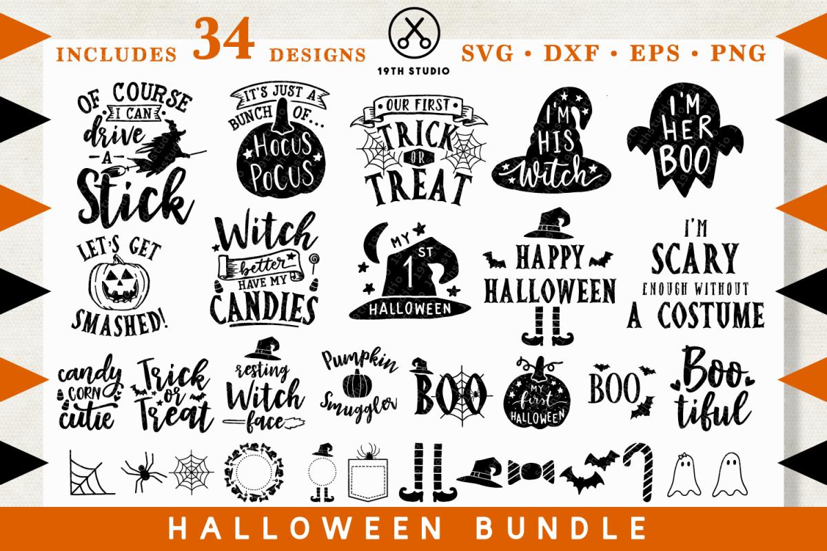 Halloween SVG Bundle , MB28