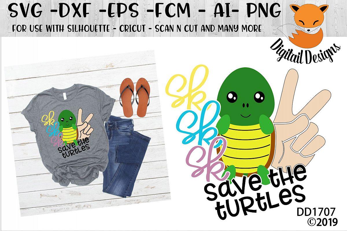 Save The Turtles Basic Girl SKSKSK And I Oop SVG example image 1