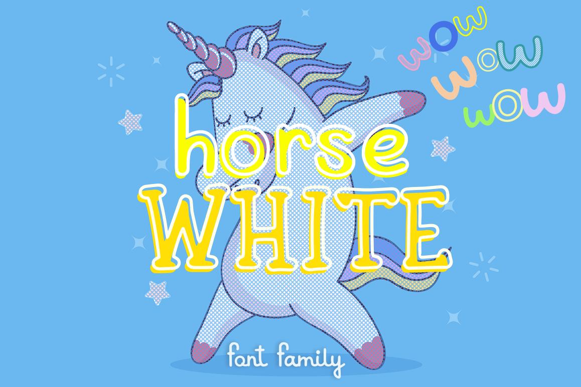 White Horse example image 1