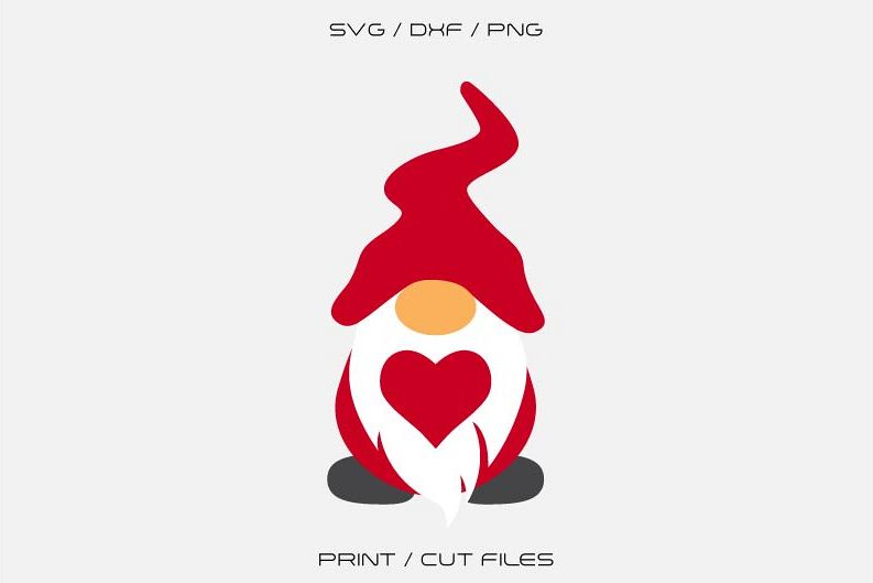 Download Gnome Svg, Valentine Gnomes Svg, Cricut File (430248 ...