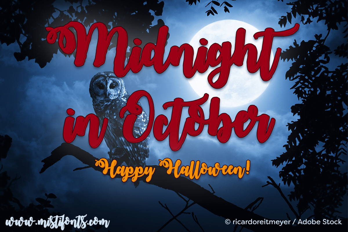 Midnight in October example image 1