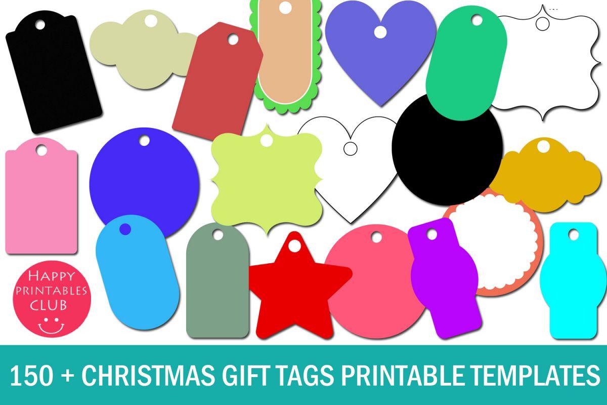 christmas gift tags printable templates gift tags templates
