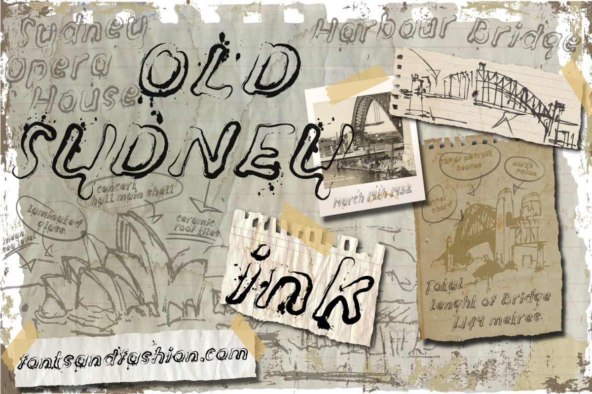 Old Sydney_Ink example image 1
