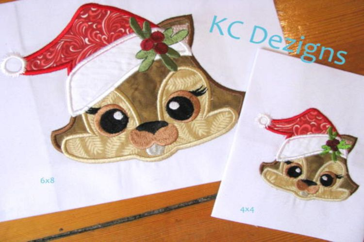Christmas Critter Chimp example image 1