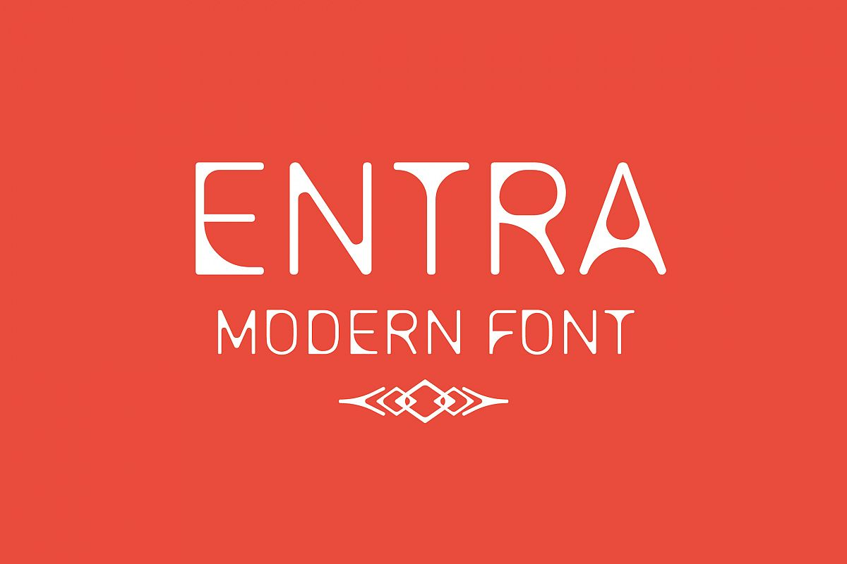 ENTRA Font example image 1