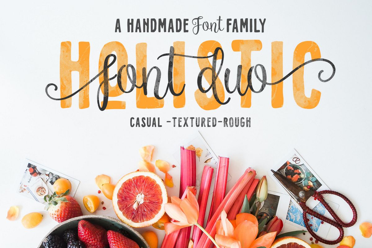 Holistic Font Duo example image 1