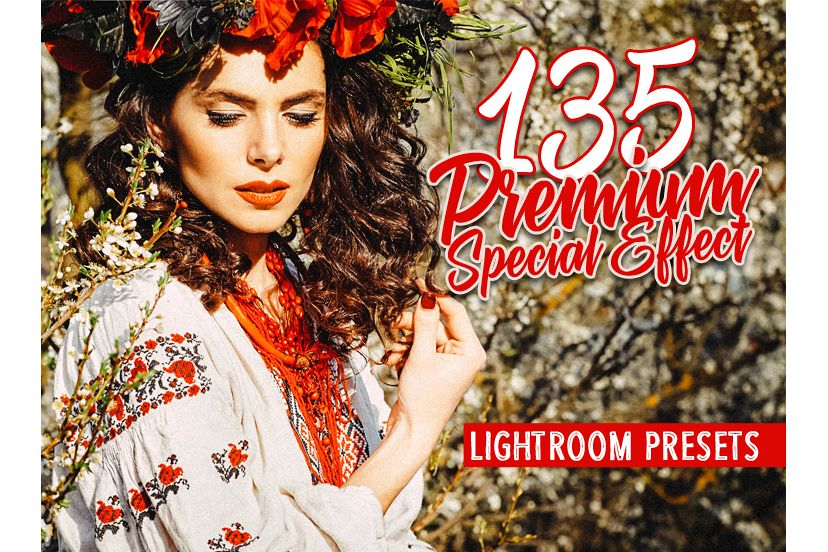 135 Premium Special Effects Lightroom Preset (Presets for Lightroom 5,6,CC) example image 1