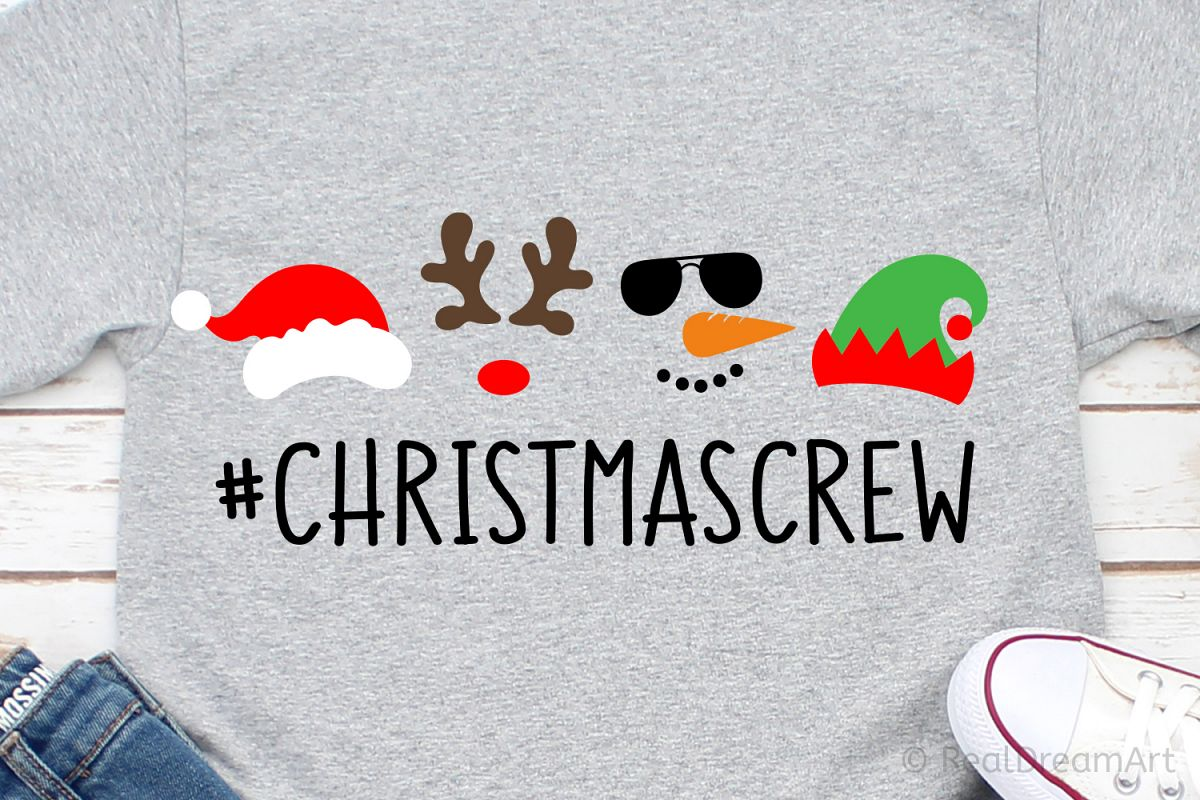 Christmas Crew SVG, DXF, PNG, EPS example image 1