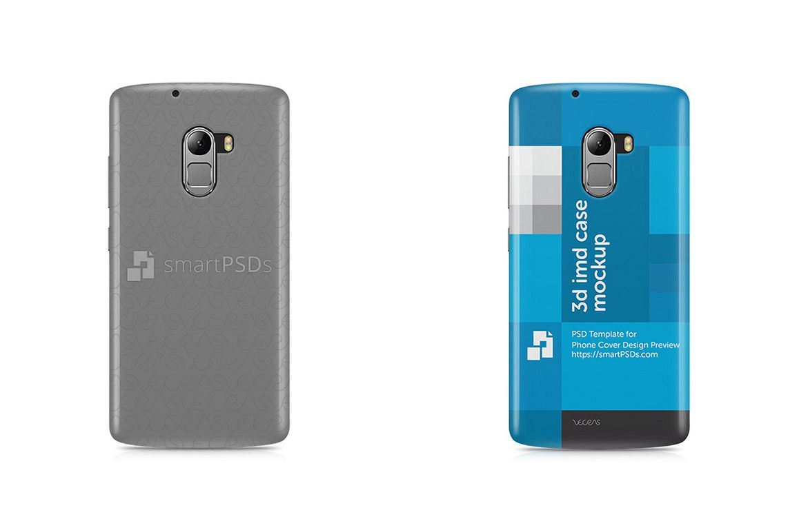 Lenovo K4 Note 3d IMD Mobile Case Design Mockup 2016 example image 1