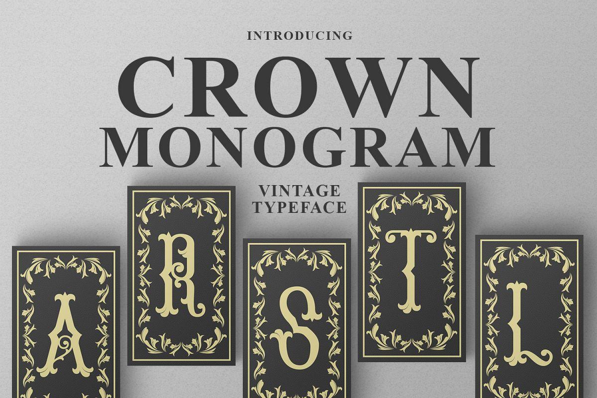 Crown Monogram example image 1