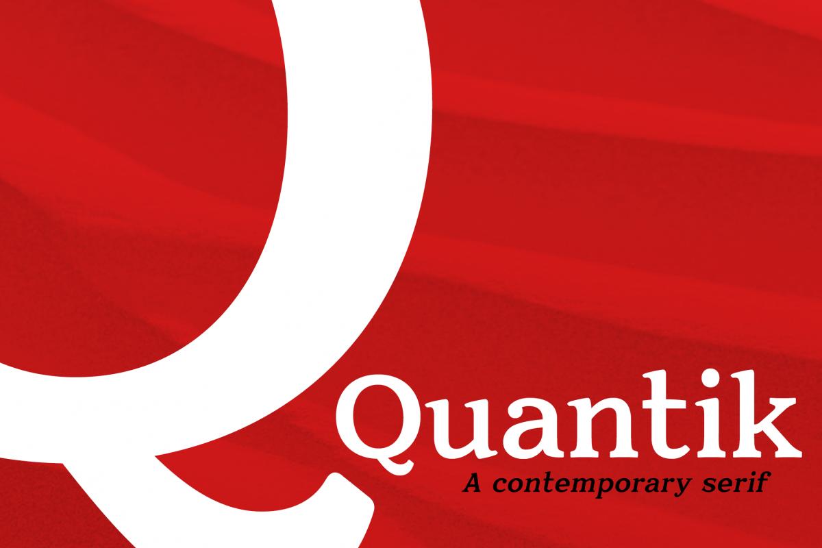 Quantik Elegant Contemporary Serif example image 1