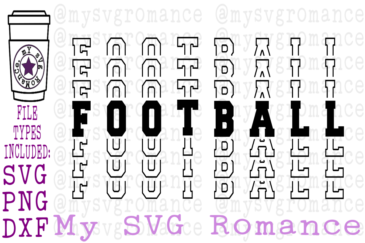 Football - Word Mirror SVG PNG DXF example image 1