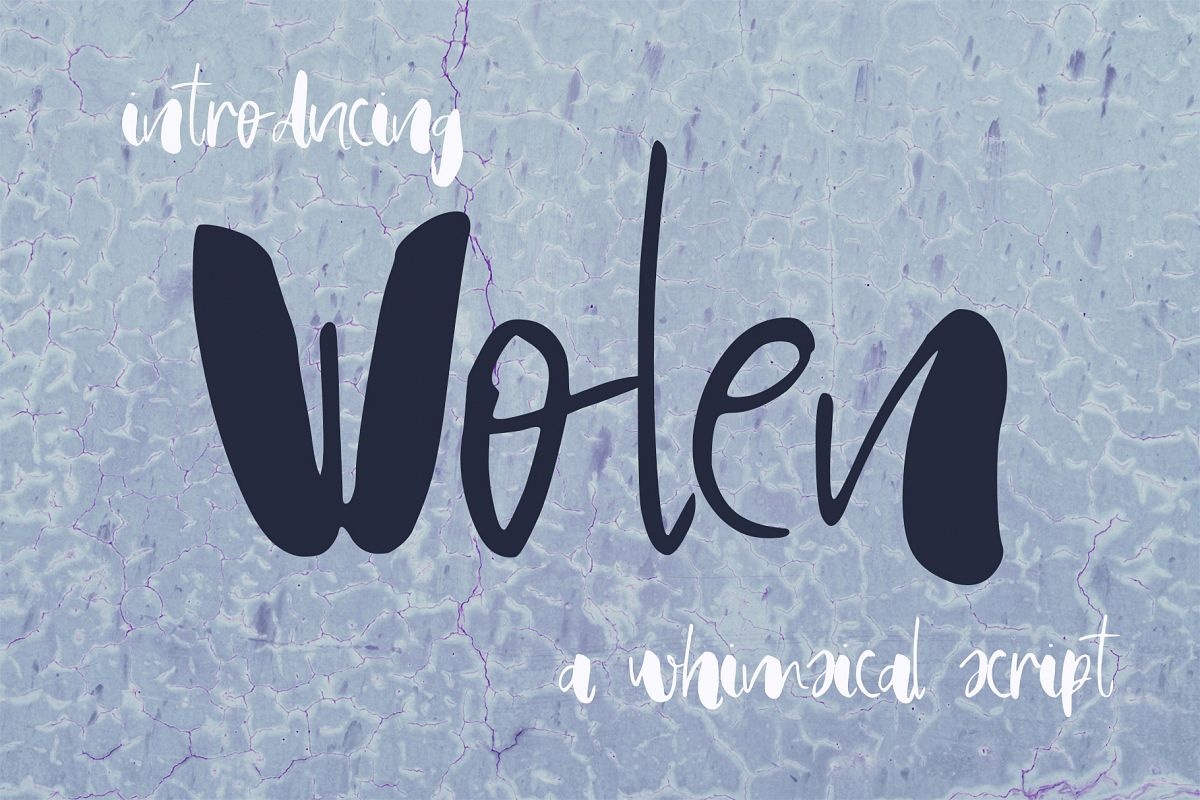 Wolen Font example image 1