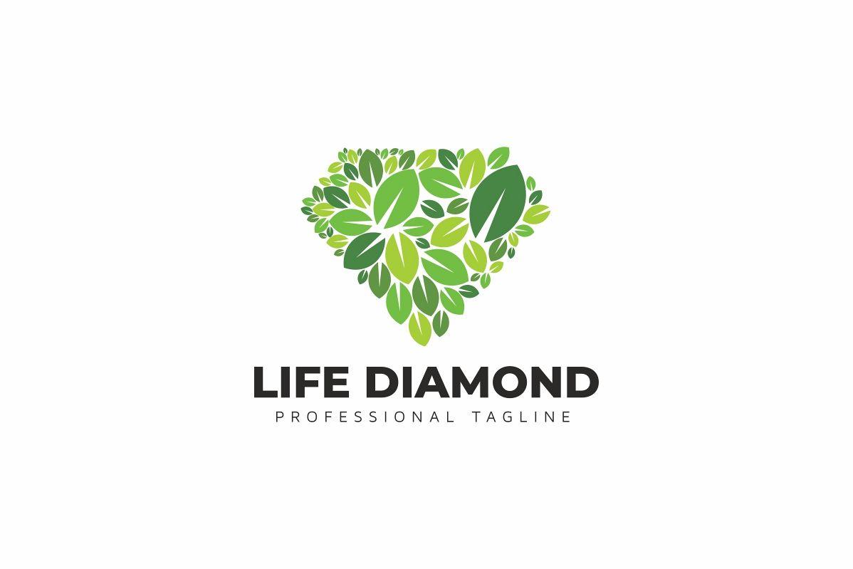 Life Diamond Logo example image 1