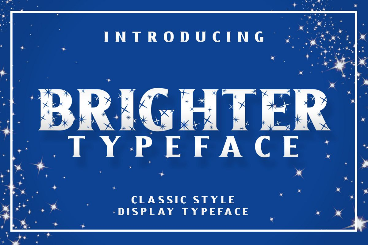 Brighter Typeface example image 1