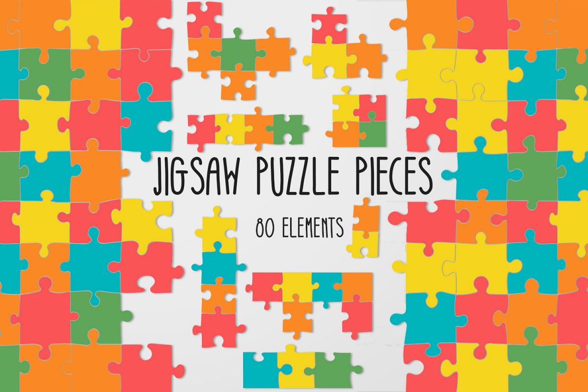 Jigsaw Puzzle Pieces example image 1