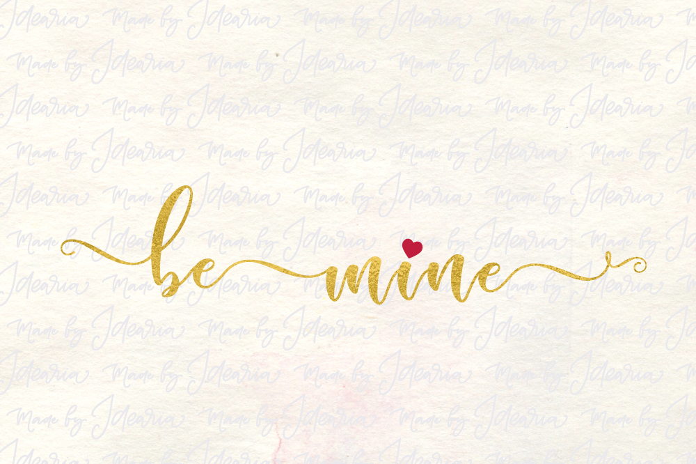Be Mine Svg Valentine Svg Valentines Day Svg Svg Files Valentines