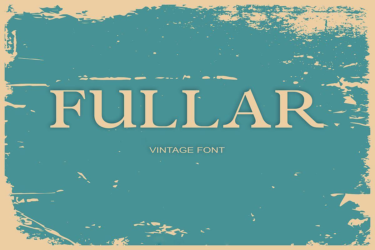 Fullar Font example image 1