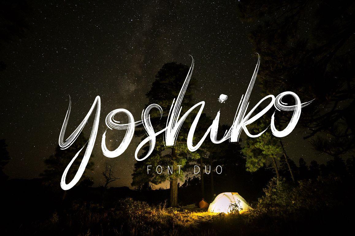Yoshiko Font Duo example image 1