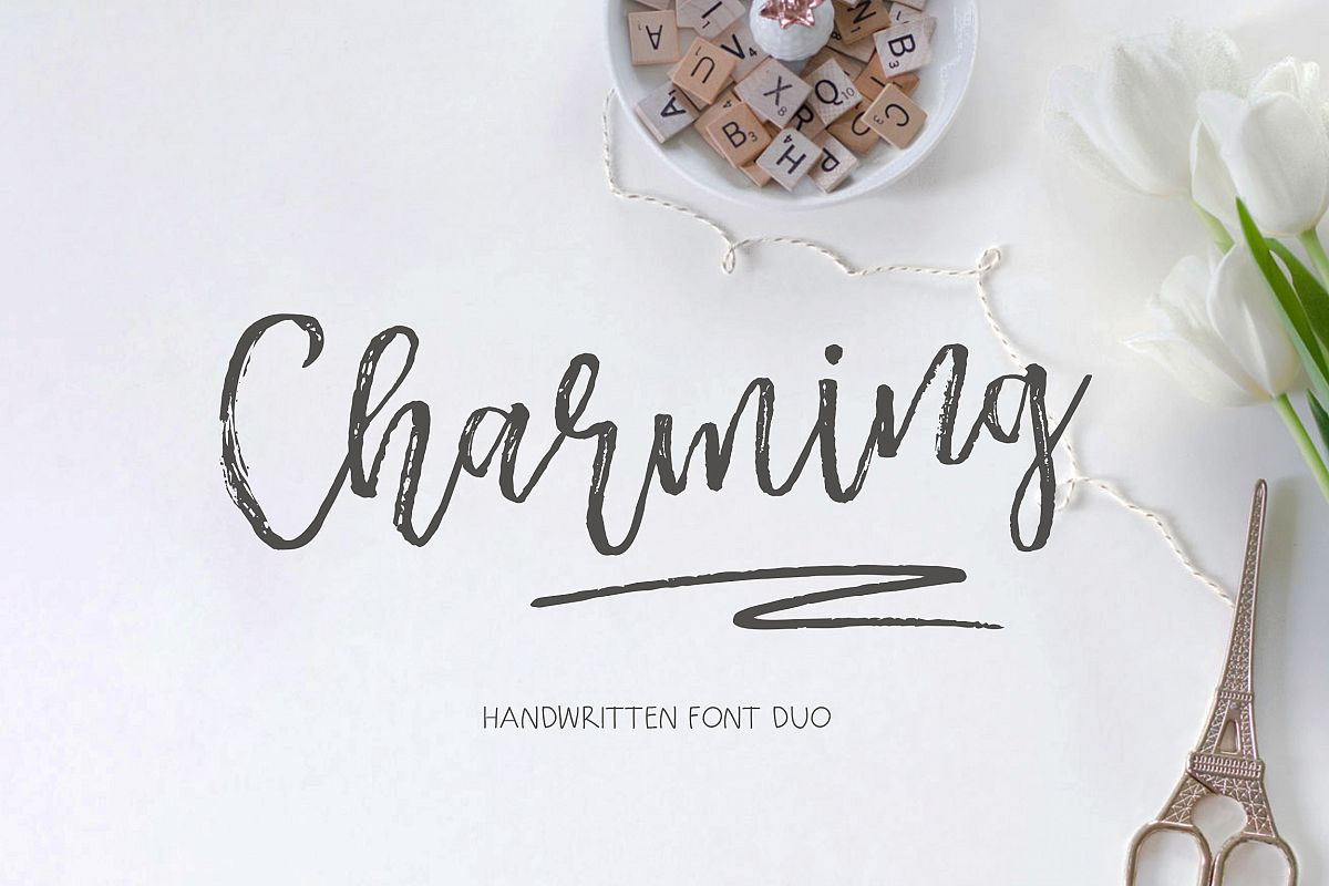 Charming Script example image 1