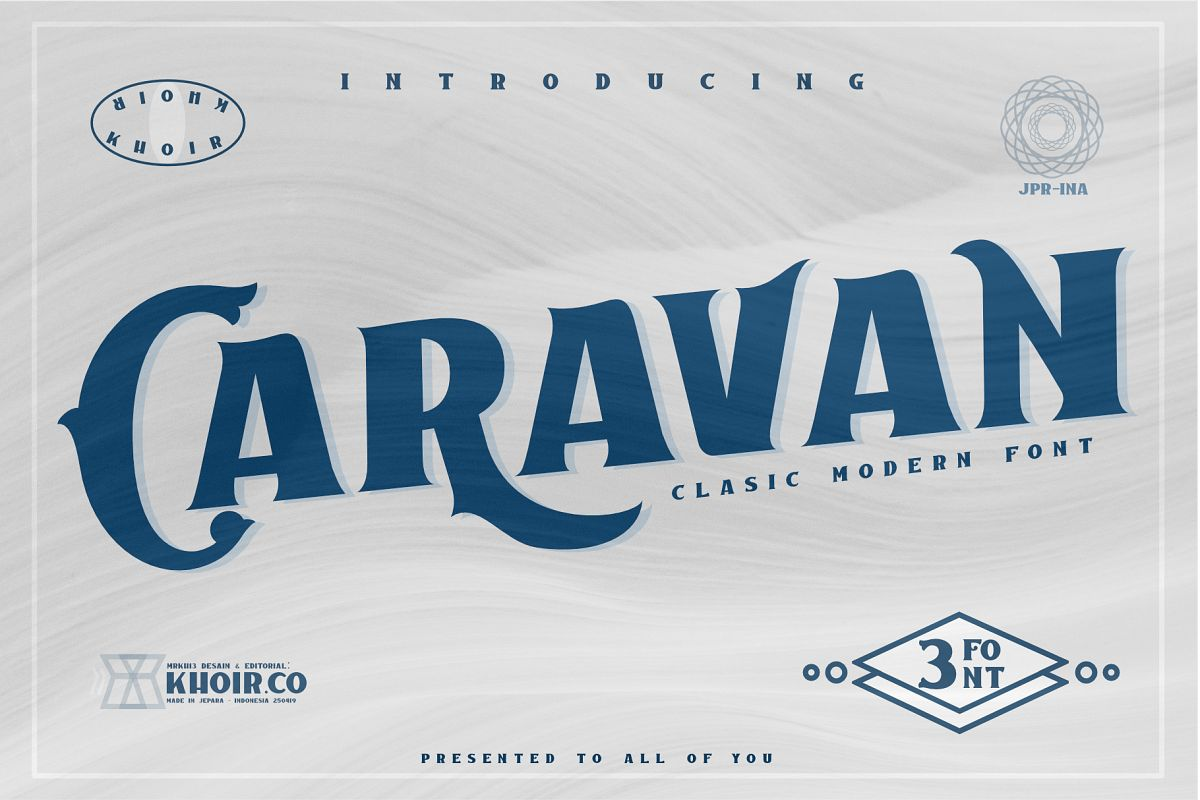 Caravan - Display Font example image 1