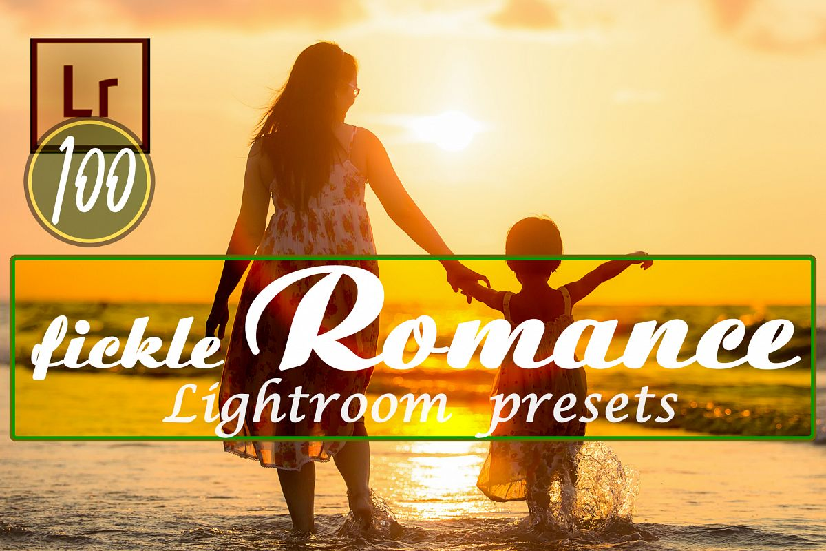 Fickle Romance Lightroom Presets example image 1