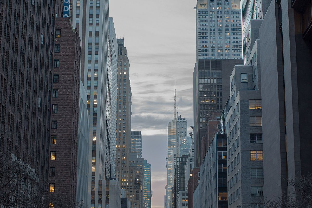 Manhattan Sunset over 42 street	 example image 1