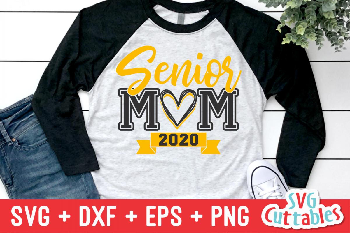 Senior Mom   SVG Cut File example image 1