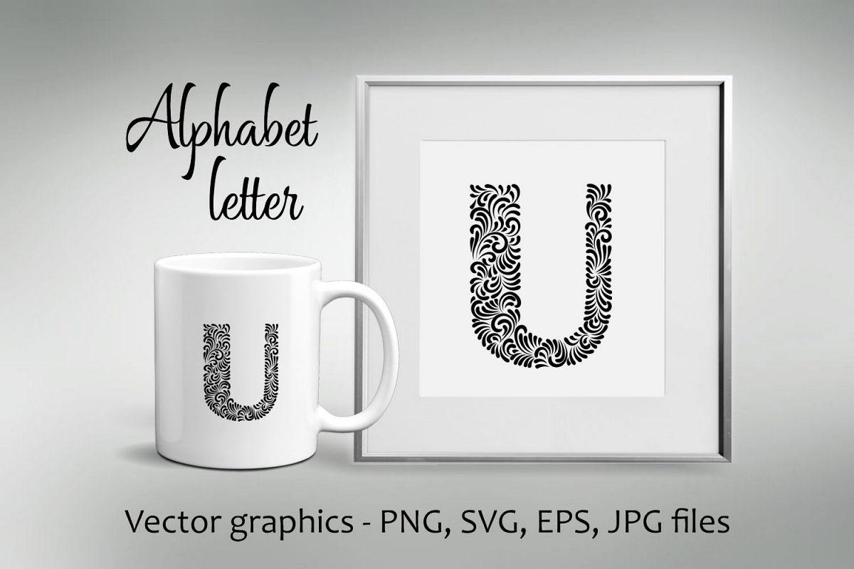 Alphabet Letter U example image 1