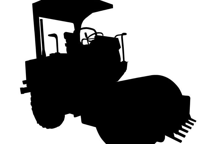 road roller silhouette example image 1