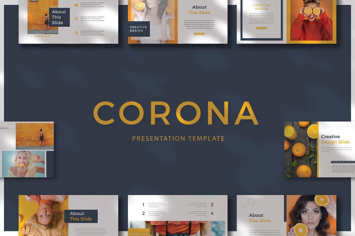CORONA - Keynote example image 1