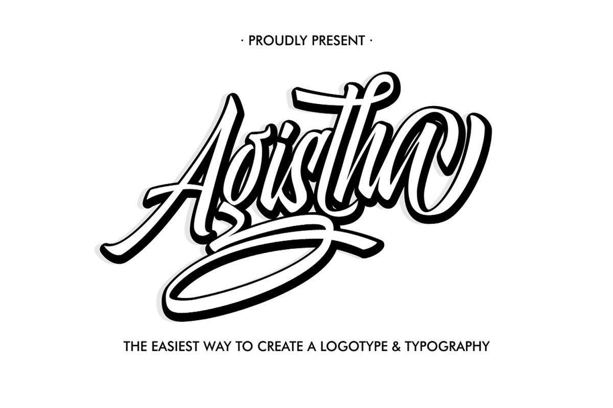 Agista Logotype example image 1