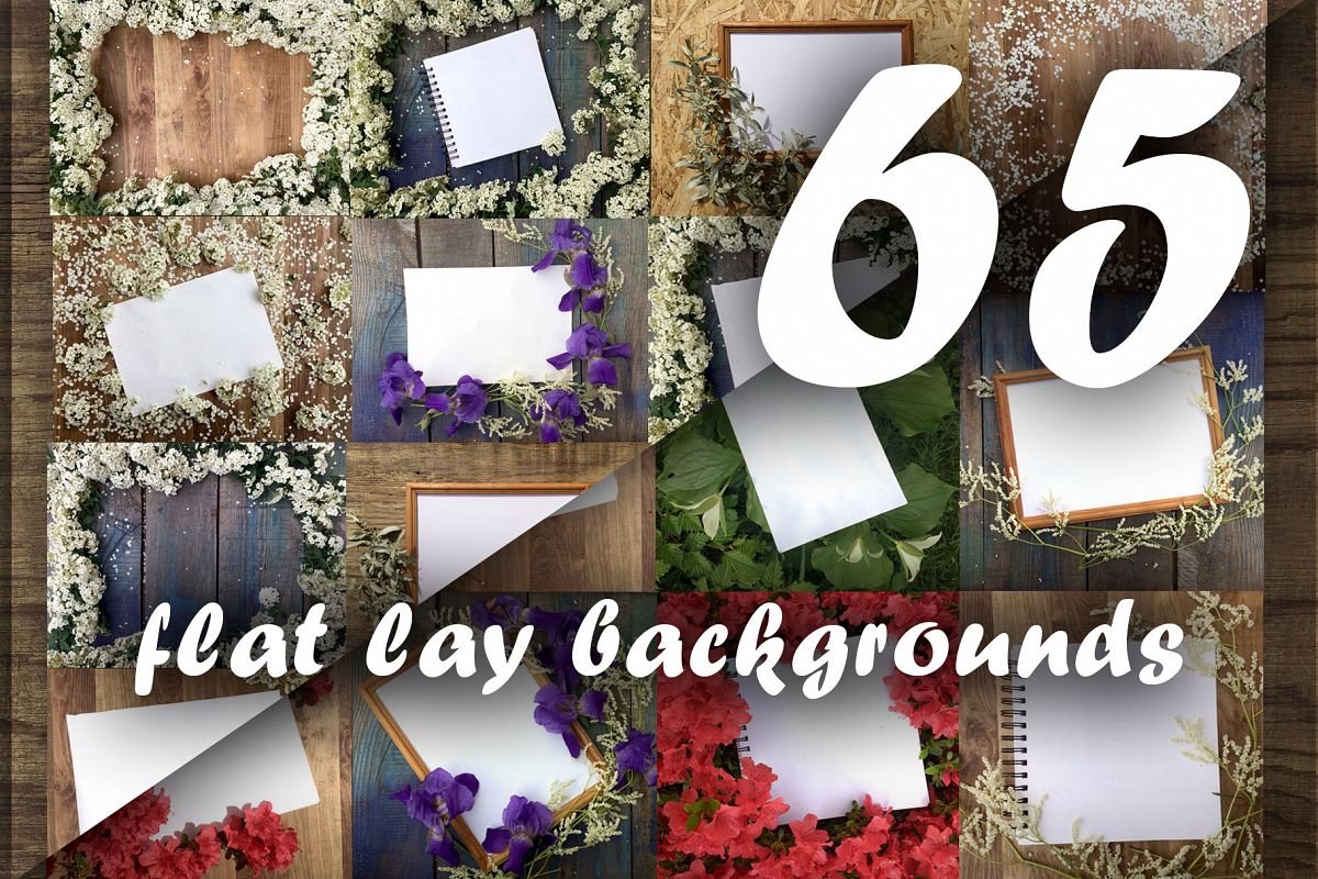 Flat lay photos of notebook for your example image 1