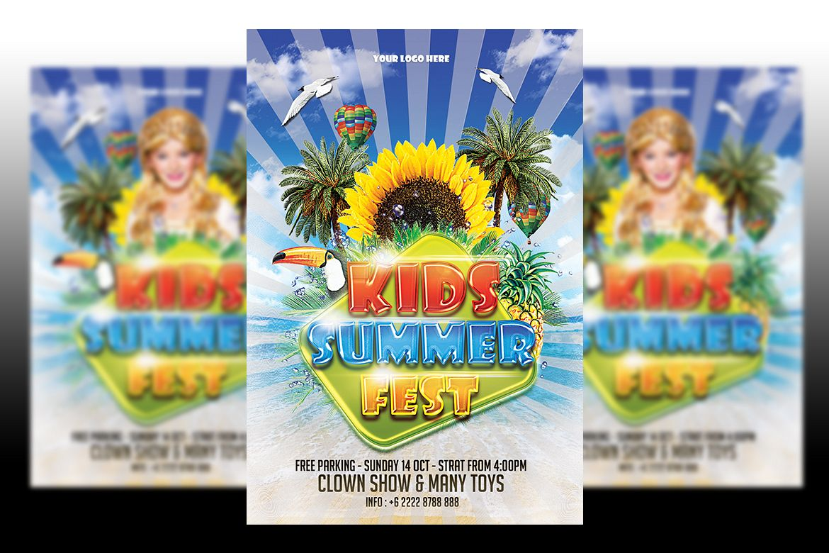kids summer fest example image 1