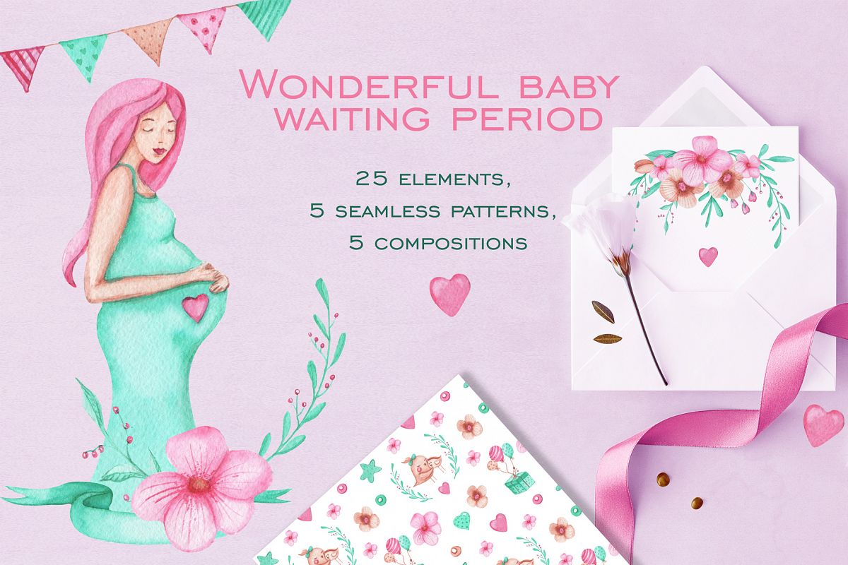 Beautiful period of pregnancy example image 1