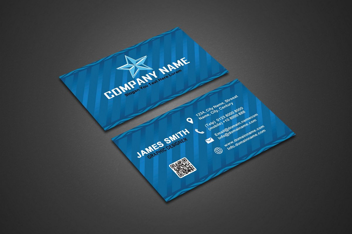 Professional Corporate Card example image 1
