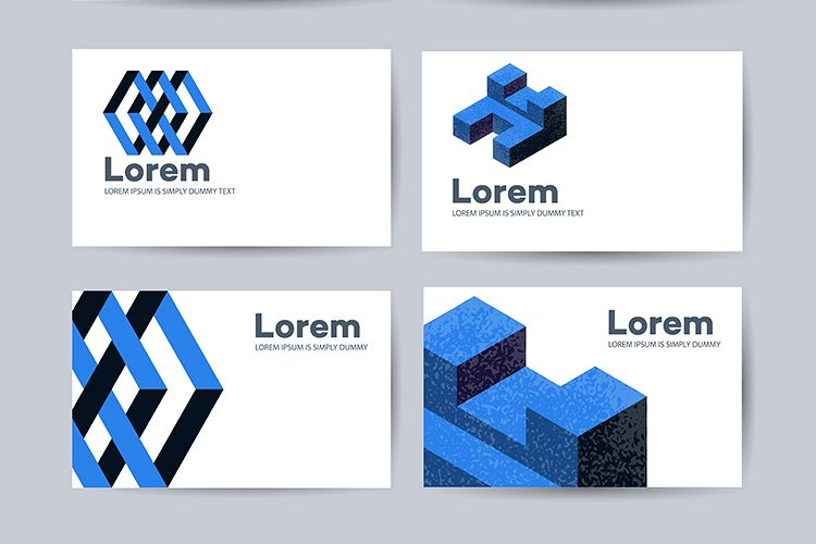 Templates of business cards example image 1