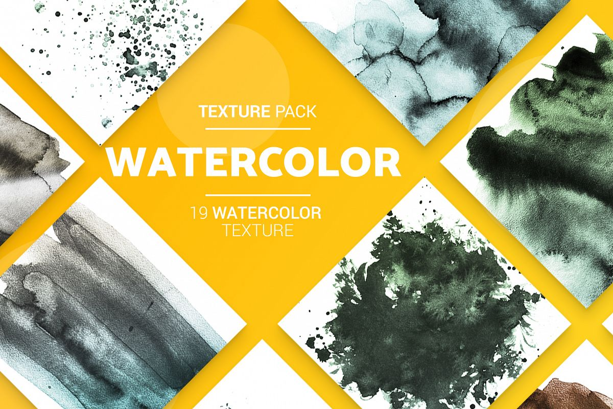 19 Watercolor Textures example image 1