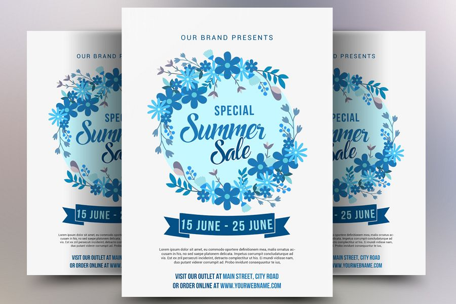 Special Summer Sale Flyer example image 1