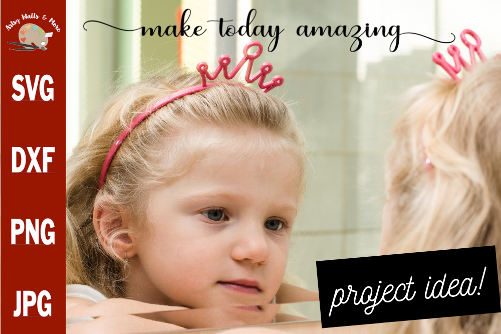 Make Today Amazing svg, inspirational sign svg cut file example image 1