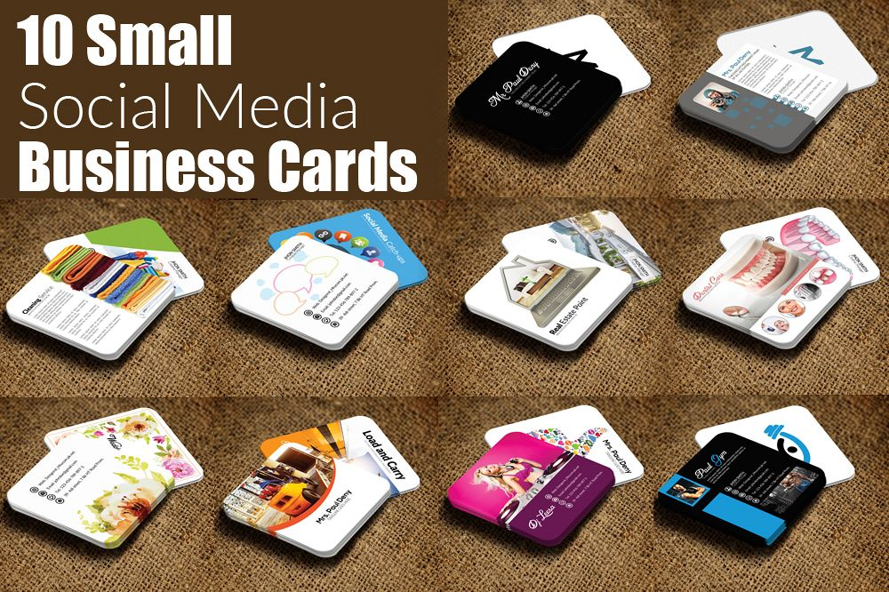 10 Multi use Small Business Cards example image 1