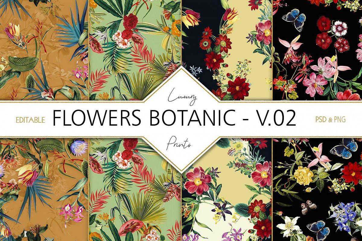 Flowers Botanic V.2 example image 1