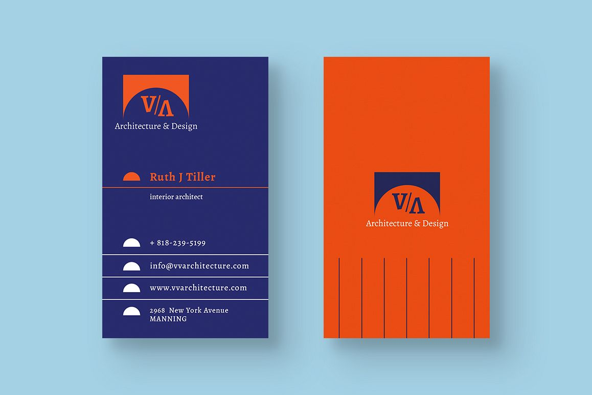 Architecture & Design Business Card example image 1