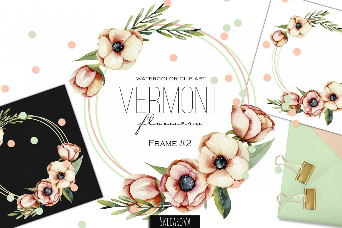 Vermont flowers. Frame #2 example image 1