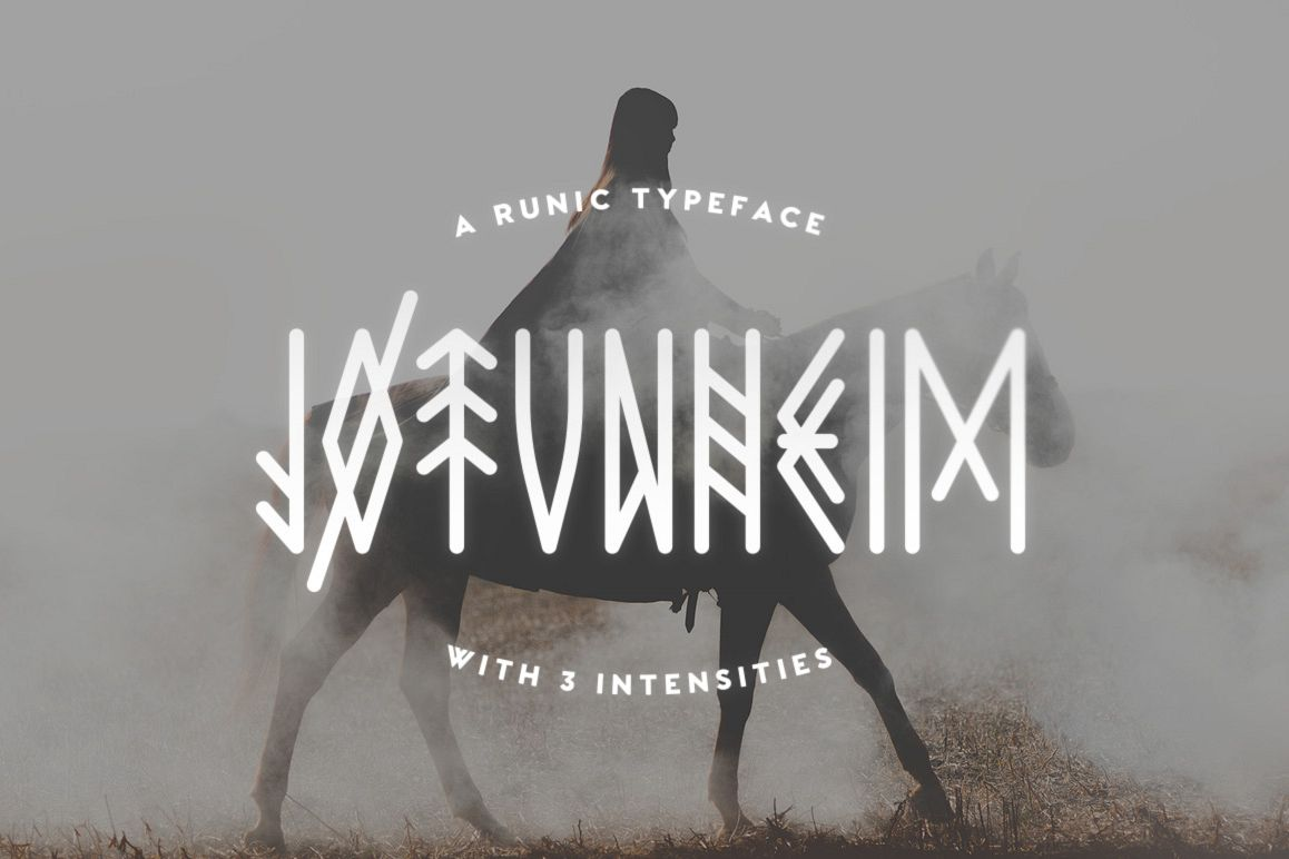 Jotunheim Typeface example image 1