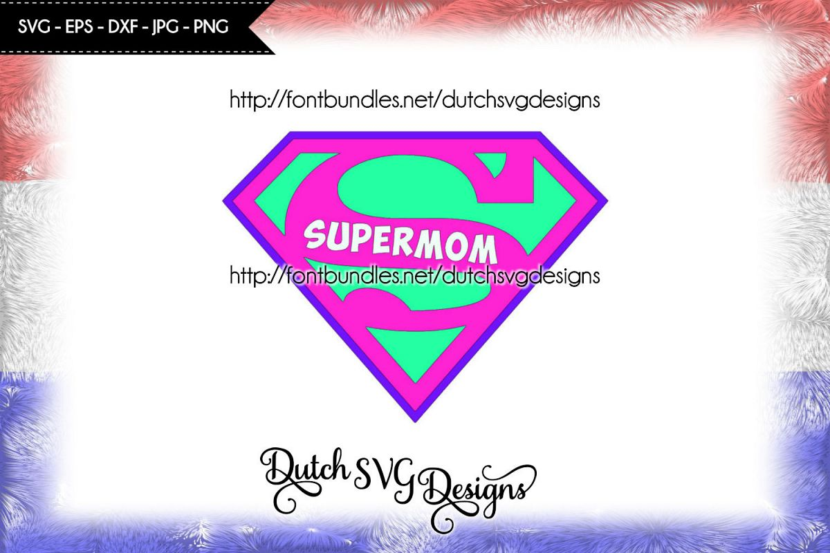 Supermom cutting file example image 1