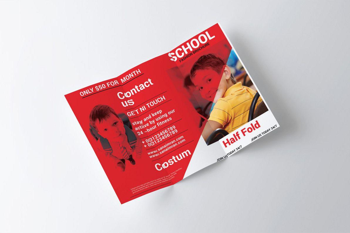 Creative School Brochure example image 1