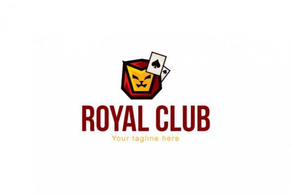 Royal Club - Abstract Lion Face Stock Logo Design example image 1